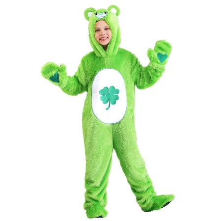 Yellow Care Bear Costume (Care Bears Classic Good Luck Bear Child's)