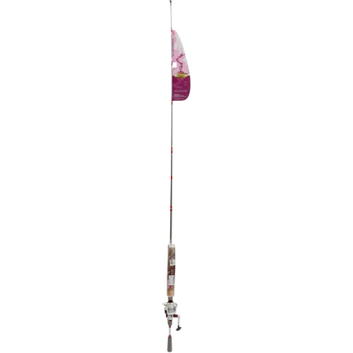 Ready2Fish Pink Spinning Combo with Kit