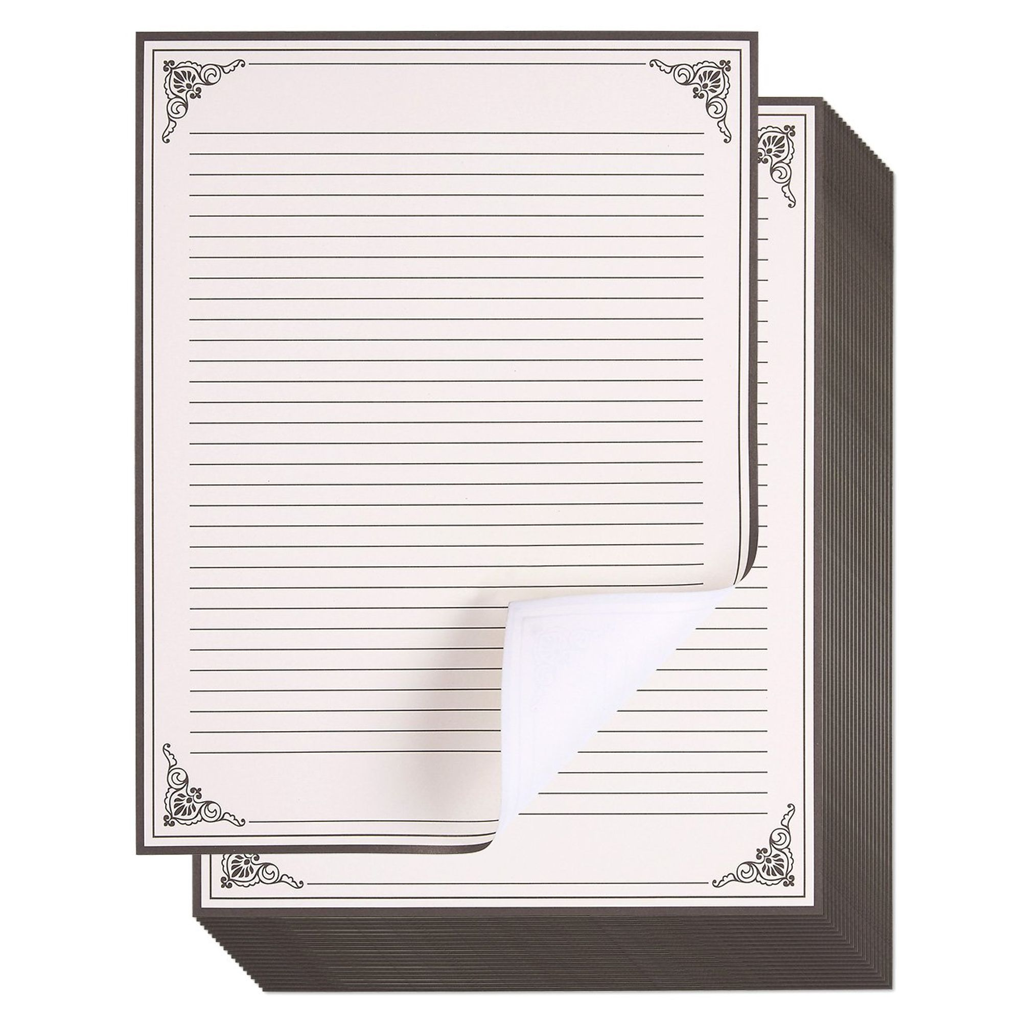 CHRISTMAS WRITING NEWS LETTER STATIONERY PAPER 80 per Pack