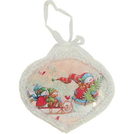 Snowman Ornament (5