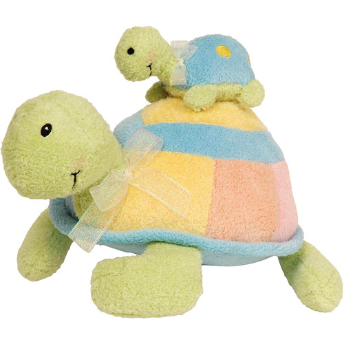 Kids Preferred - Mama & Baby Turtle Action Musical Plush Toy