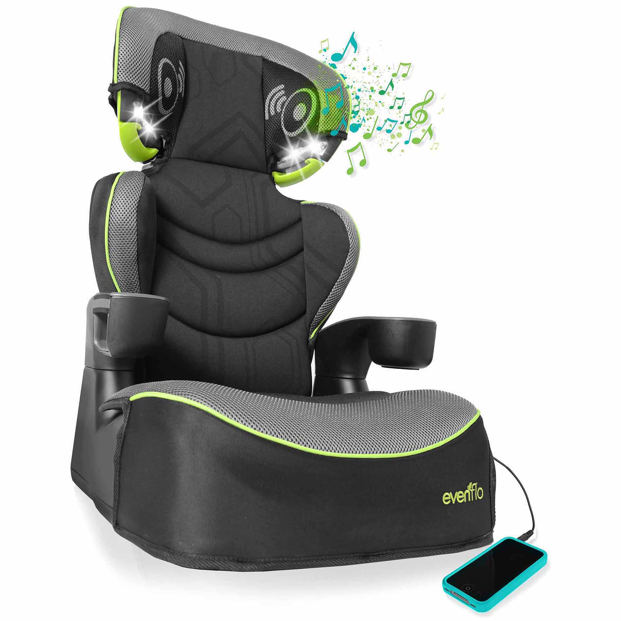 evenflo big kid dlx high back booster car seat jonah walmartcom