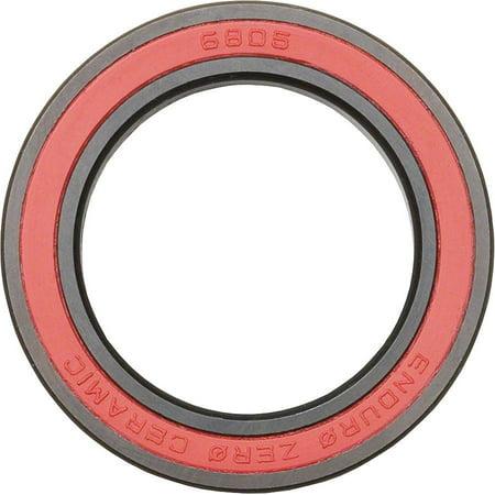 Enduro Zero Ceramic Grade 3 6805N Sealed Cartridge Bearing 25x37x6