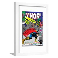 Marvel Comics Retro: The Mighty Thor Comic Book Cover No.143, Sif Framed Print Wall Art