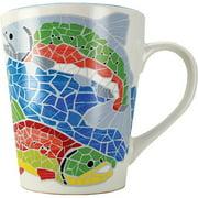 "Arctic Circle Alaska Mug ""mosaic Salmon"" 13oz"