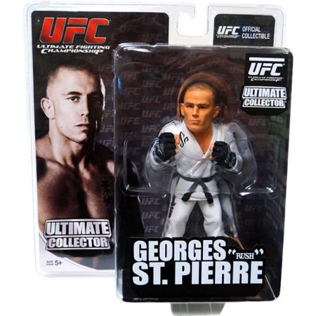 UFC Ultimate Collector Series 7 Georges St Pierre Action Figure [White Gi] (Ufc Action Figure Series)