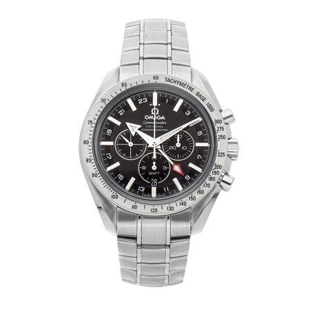 Pre-Owned Omega Speedmaster Broad Arrow GMT Chronograph 3581.50.00 Watch (2-Year WatchBox warranty)