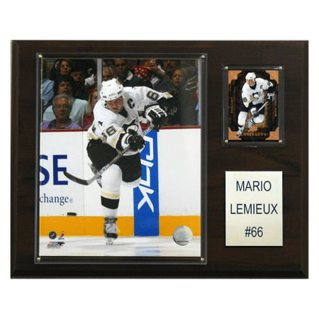 C&I Collectables NHL 12x15 Mario Lemieux Pittsburgh Penguins Player Plaque