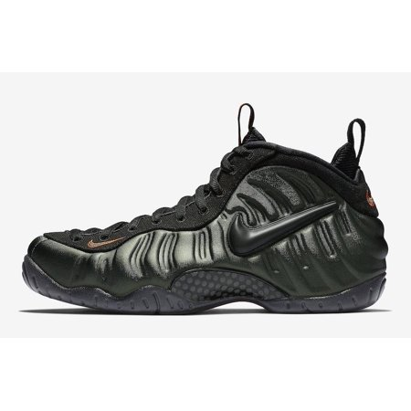 0718bd98f3b Nike - Mens Nike Air Foamposite Pro Sequoia Black Team Orange 624041-304 -  Walmart.com