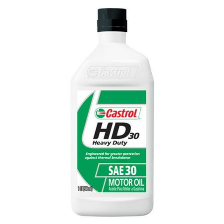 Castrol 30w Conventional Motor Oil 1 Qt