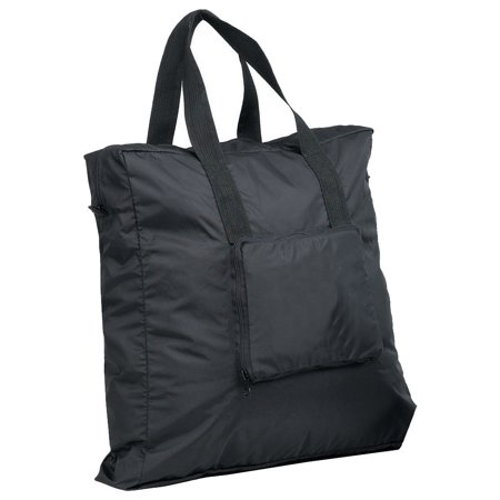 ZIP AROUND FOLDING TOTE BAG