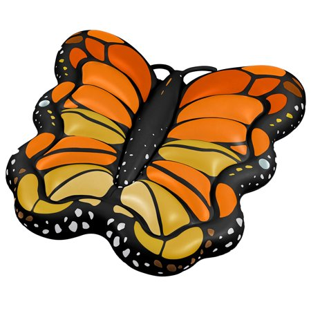 Swimline Giant Monarch Butterfly Inflatable Ride On Pool Float Lounger](Girl Inflates)