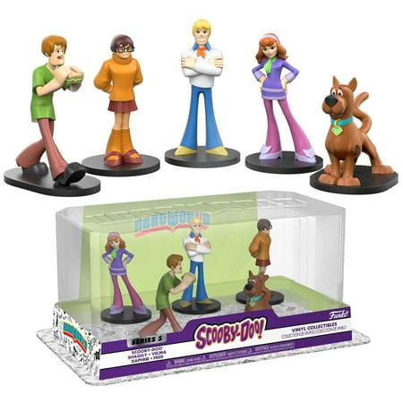 Funko Scooby Doo Series 5 Scooby-Doo, Shaggy, Velma, Daphne & Fred Vinyl Figure 2-Pack (Shaggy And Scooby Doo Halloween Costumes)