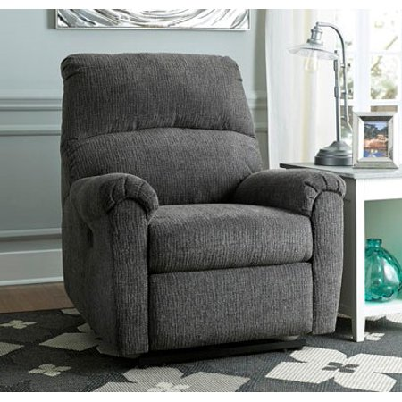 Signature Design by Ashley McTeer Power Recliner with extra Body Cushions, Ultra Comfortable Power Reclining Chair, Multiple Colors