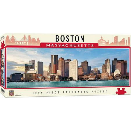 MasterPieces Boston 1000 Piece Panoramic Jigsaw Puzzle ()