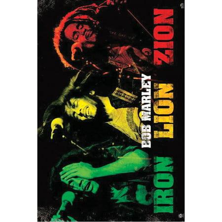 Bob Marley - Domestic Poster