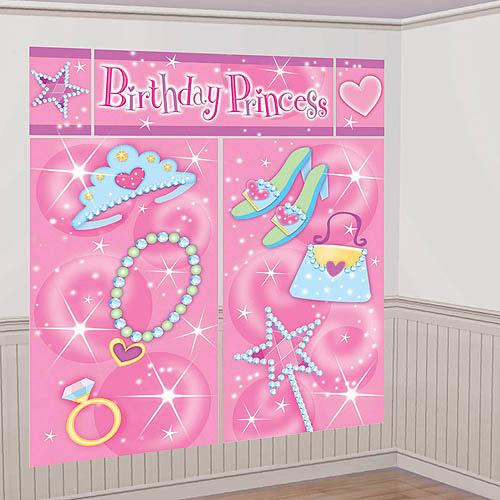 Amscan 679678 Princess Scene Setter - Pack of 60