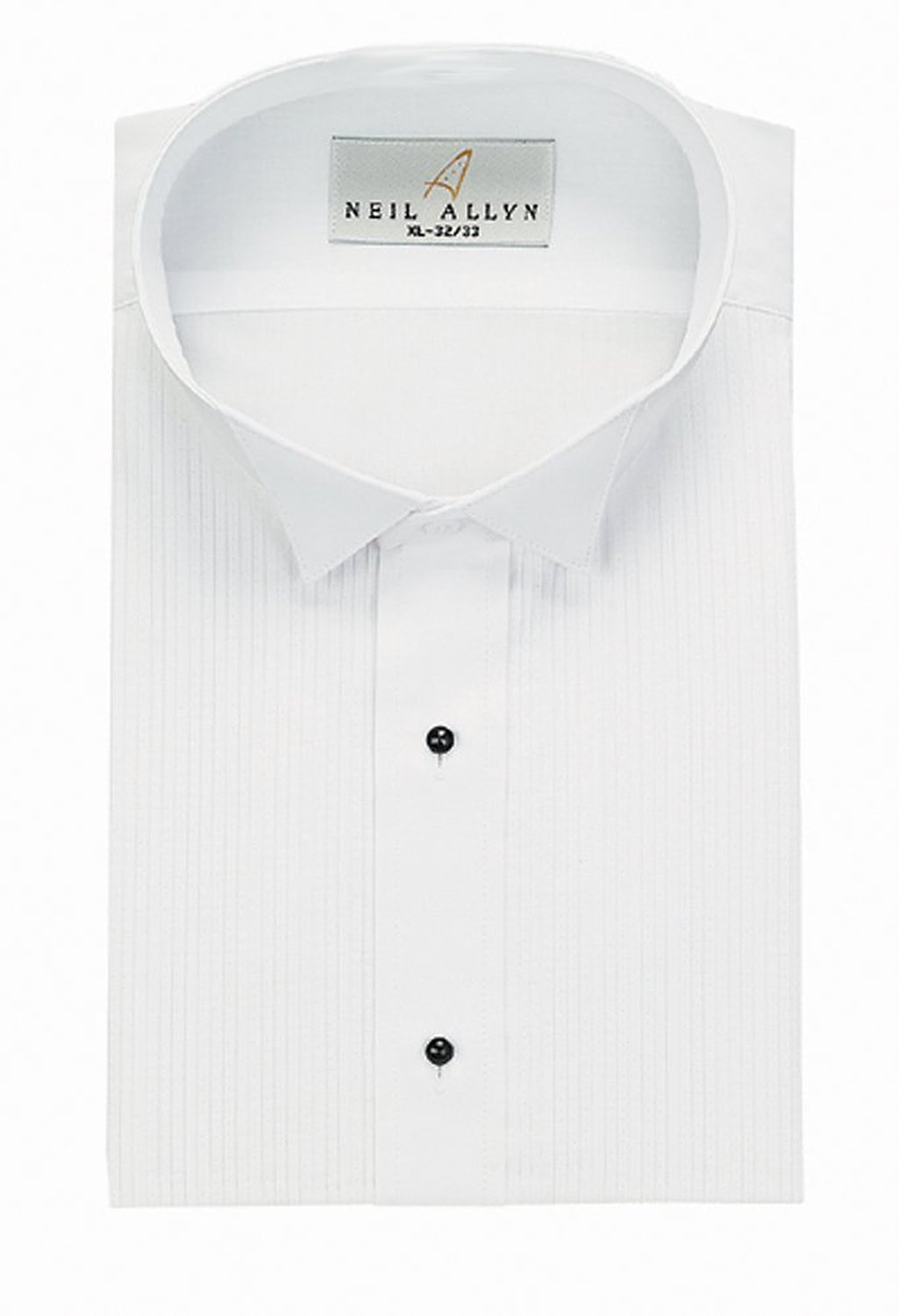 Classix Mens Colored Tuxedo Shirts 1//8 Inch Pleat Wing Collar