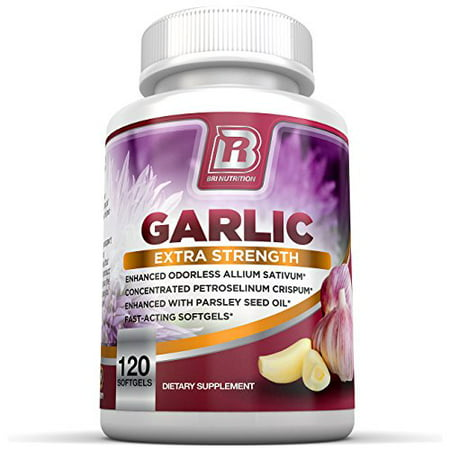 BRI Nutrition Odorless Garlic 500 mg Softgel - 120 Softgels