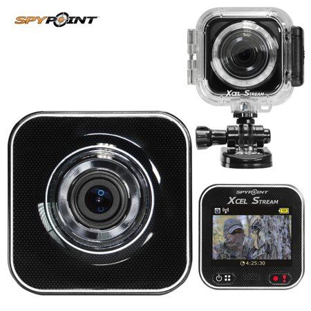 Spypoint xcel super hd live streaming wp action camera for Camera streaming live