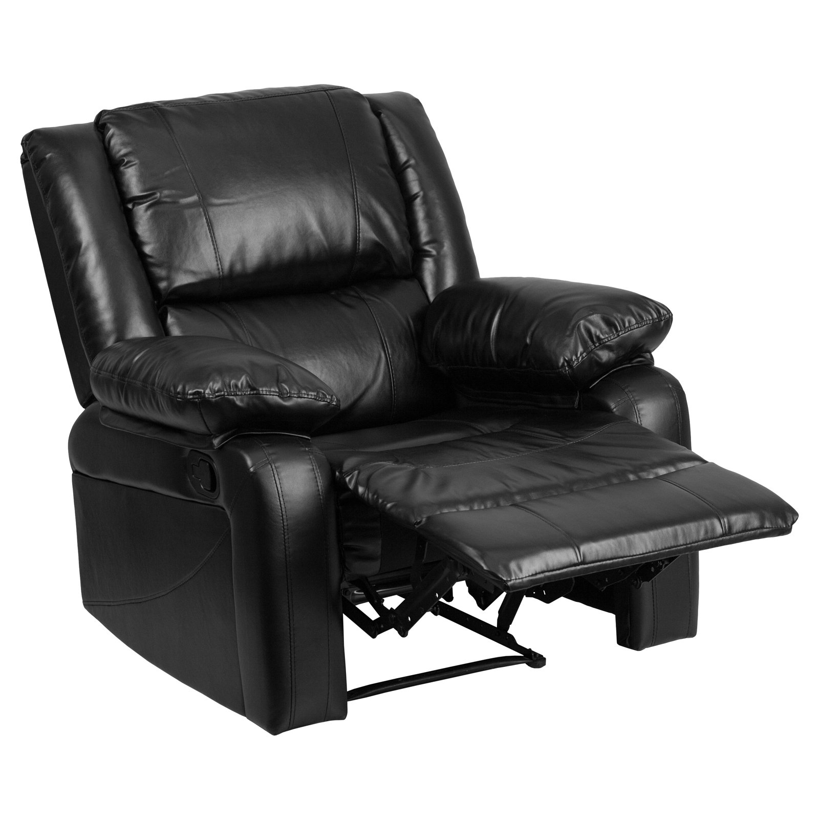 Lovely Flash Furniture Harmony Series Leather Recliner