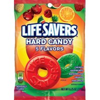 Lifesavers 5 Flavors Hard Candy Bag, 6.25 ounce