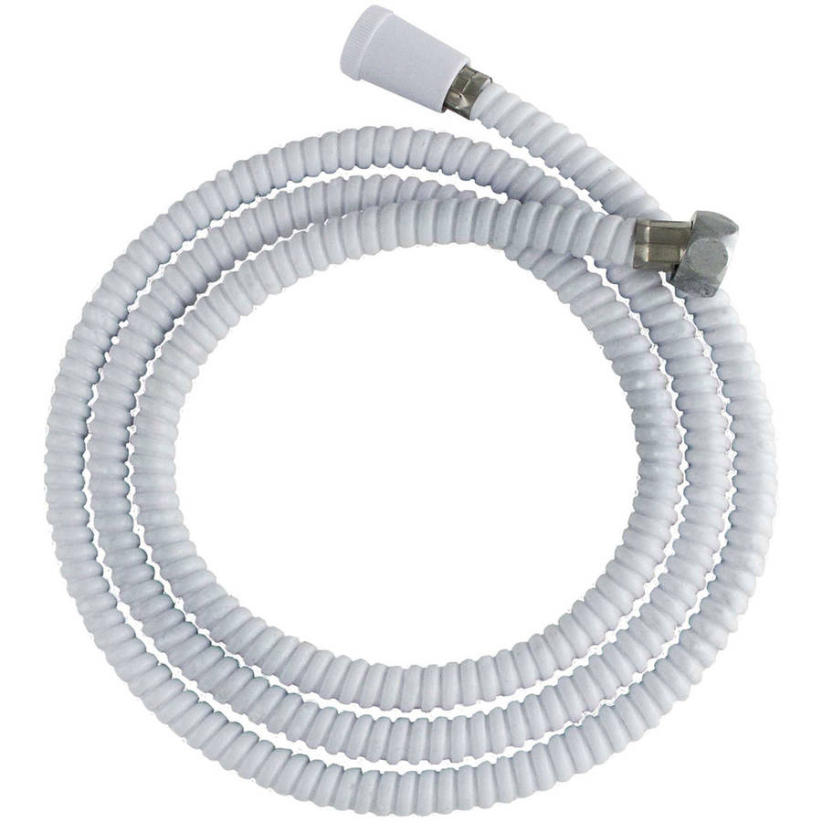 """LDR 520-2400W 72"""" White Replacement Shower Hose"""