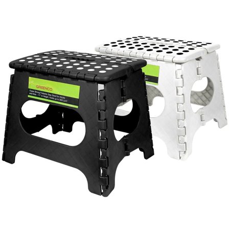 Greenco Set Of 2 Super Strong Foldable Step Stool 11