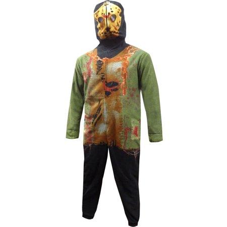 Jason Friday the 13th Union Suit - Union Suit Pajamas