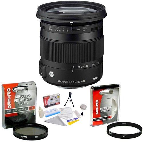 Sigma 17-70mm f/2.8 DC Contemporary Macro OS HSM TSC Lens...