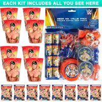 WWE Favor Kit (For 8 Guests)