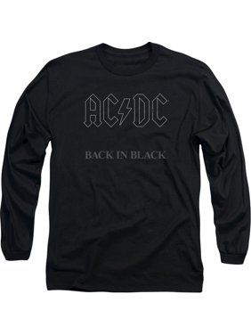 2042feb5b Product Image AC/DC Men's Back In Black Long Sleeve Black