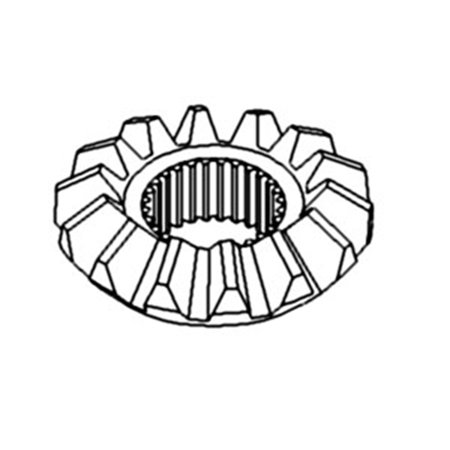 L28376 New Differential Bevel Gear For John Deere Tractor