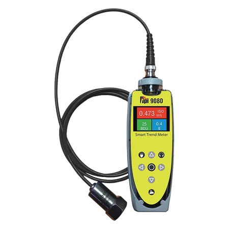 TEST PRODUCTS INTL. 9080 Vibration Meter,VibTrend Softwar...
