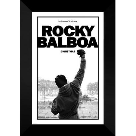 FrameToWall - Rocky Balboa FRAMED Movie Poster: Sylvester