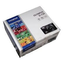 Olympus D-720 Black 14mp Digital Camera 10x Optical Zoom D-720K