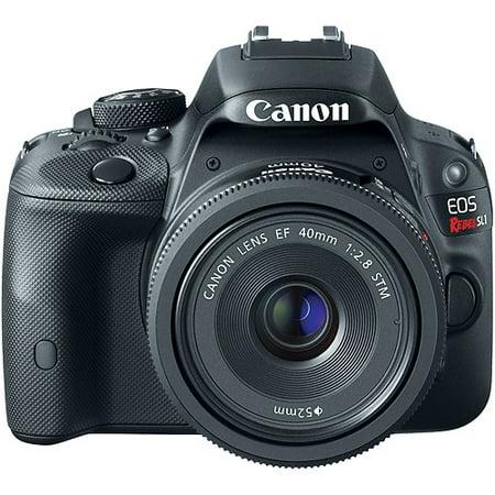 Canon Black EOS Rebel SL1 World's Smallest Digital SLR Camera with ...
