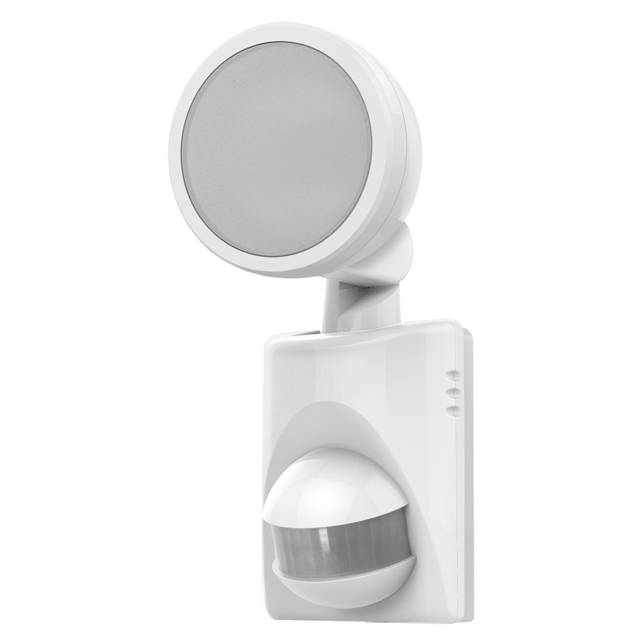 Admirable Heathco Hz 5990 Wh A White Battery Powered Led Motion Security Light Wiring 101 Archstreekradiomeanderfmnl