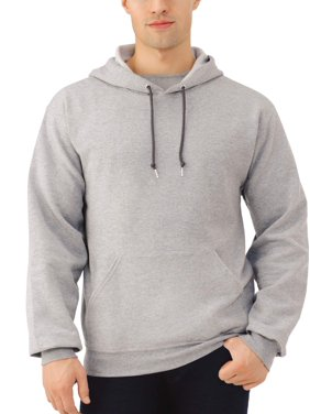 Fruit of the Loom Men's and Big Men's Eversoft Fleece Pullover Hoodie Sweatshirt, up to Size 3XL