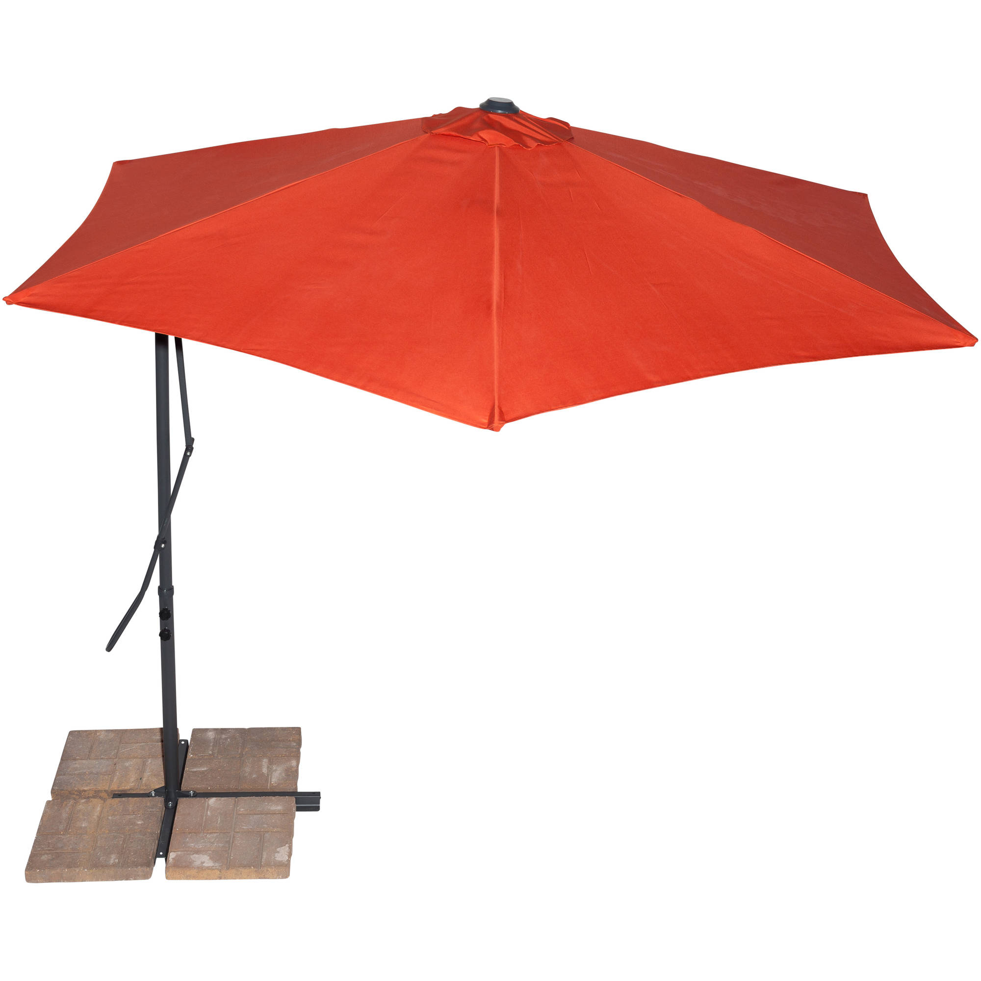 California Sun Shades 10' Cantilever Umbrella, Terracotta by Gale Pacific USA Inc