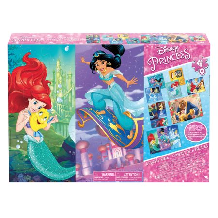 Disney Princess 8 Pack of Jigsaw Puzzles (Jigsaw Face)