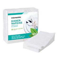 - Highmark® 2-Ply Dinner Napkins, 15