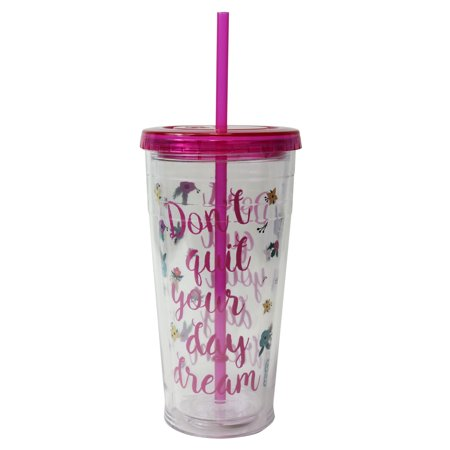Cool Gear 24 Ounce Pink Tumbler ()