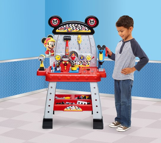 Disney Junior Mickey and the Roadster Racers Pit Crew Workbench by Just Play