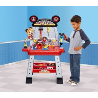 Disney Junior Mickey and the Roadster Racers Pit Crew Workbench Playset