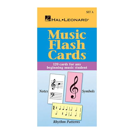 Music Flash Cards - Set a : Hal Leonard Student Piano Library (Hal Leonard Blues Saxophone)
