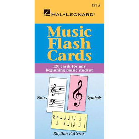 Music Flash Cards - Set a : Hal Leonard Student Piano Library