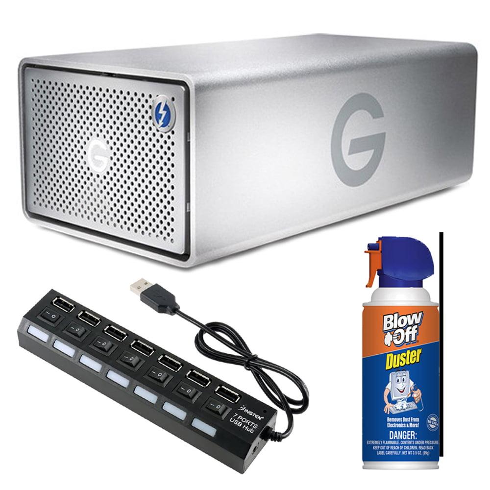 G-RAID Removable Thunderbolt 3 12TB External Drive Bundle