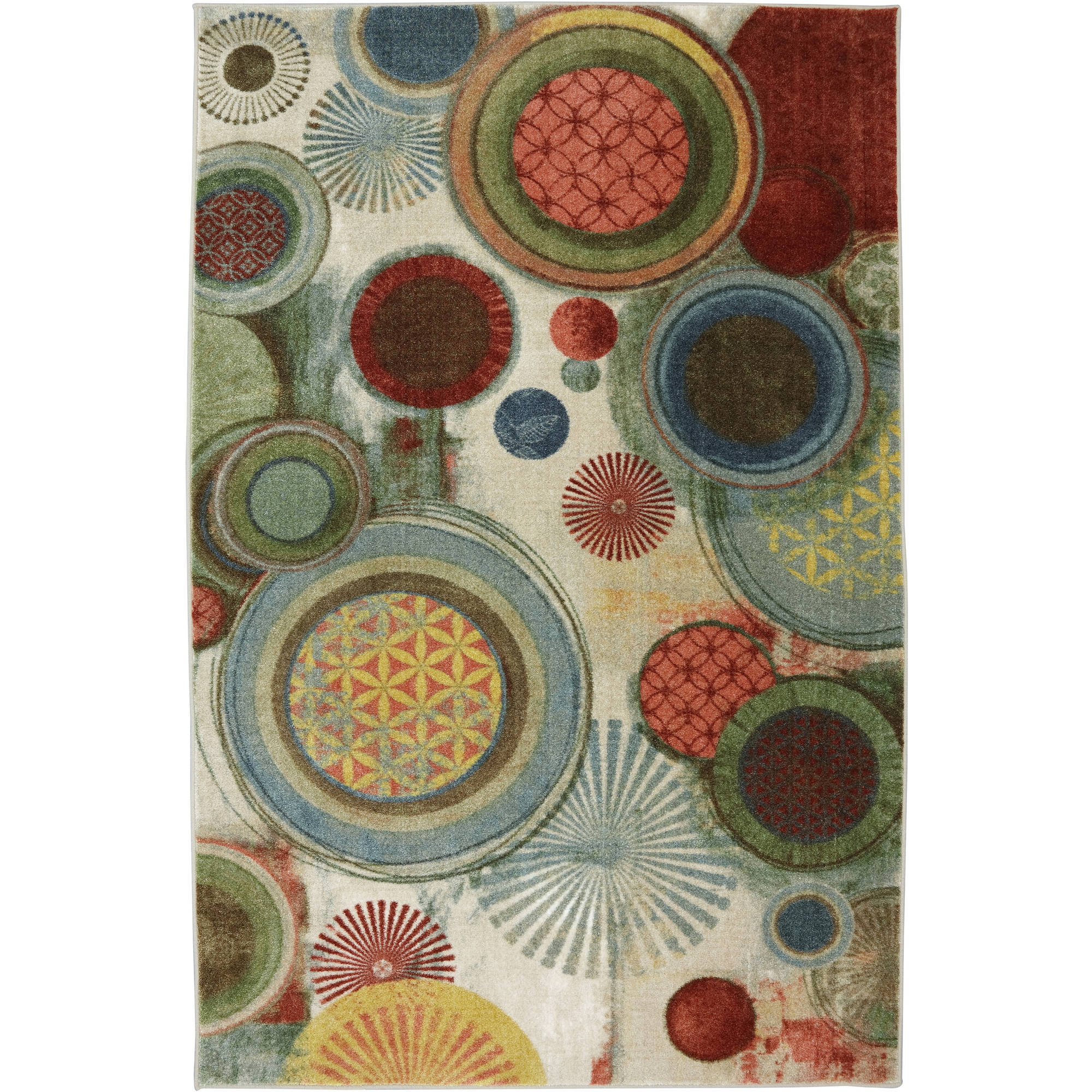 Mohawk Home Motion Printed Area Rug Multicolor Walmart