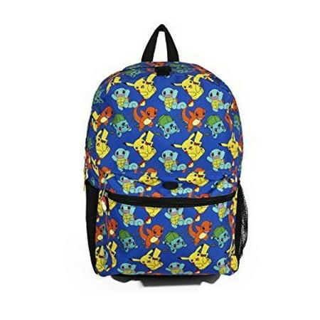 FAB Starpoint - Backpack - Pokemon - Blue Pattern w Friends 16 ... 29e64e8e9c9d5